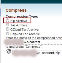 pilih zip file