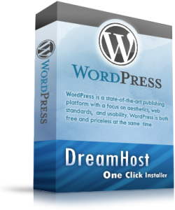 DreamHost wordpress
