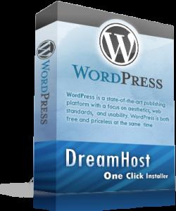 DreamHost wordpress