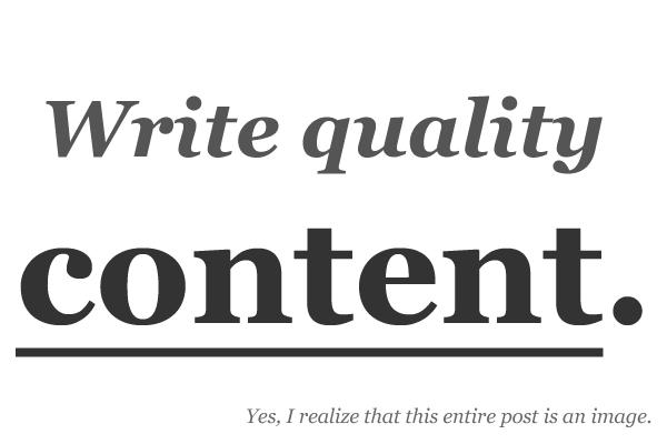 cara membuat artikel berkualitas high quality content