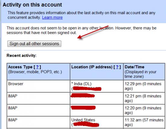 cek akun gmail yang di hack
